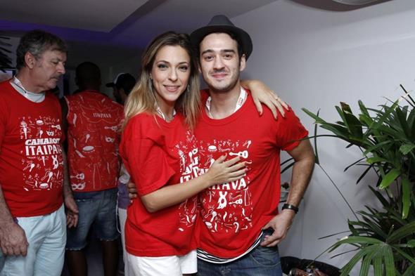 Julia Rabello e Marcos Veras Crédito: Alex Palarea/Divulgação
