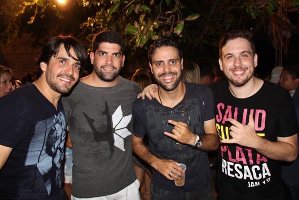 Kleber Jatahy, Gabriel Canuto, Calukinha e Davi Marques Crédito: Paulo Victor Moura/Divulgação