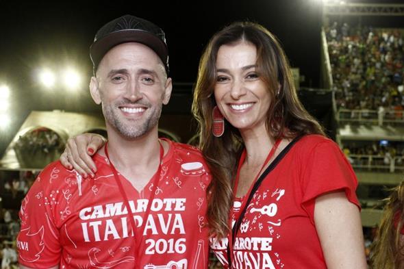 Paulo Gustavo e Monica Martelli Crédito: Alex Palarea/Divulgação