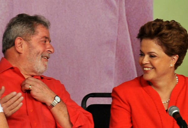 Lula e Dilma Rousseff/Ag. Brasil