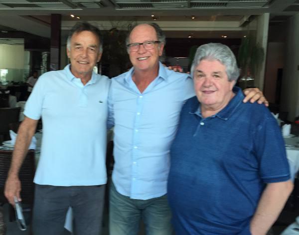 Homero Lacerda, Paulo Roberto Falcão e Julião Konrad/JAMS