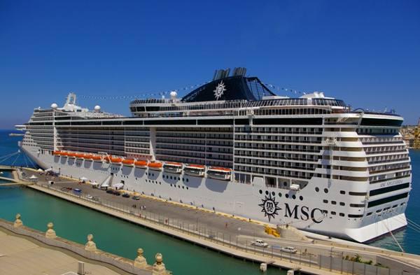 navio/MSC/Divulgação