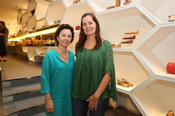Monica Paes e Marcia Dias. Crédito: Nando Chiappetta/DP