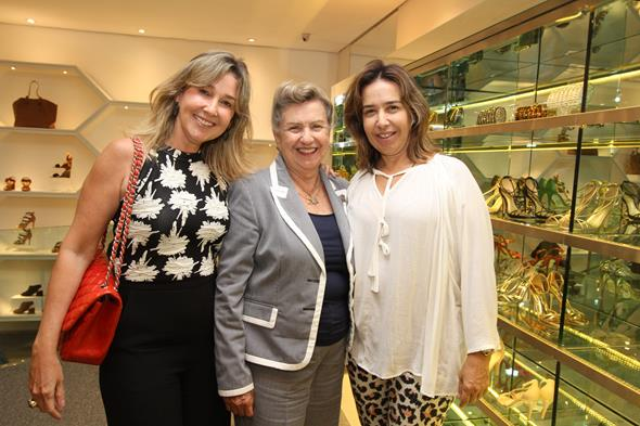 Silvana Aguiar, Glorinha Aguiar e Suzana Aguiar. Crédito: Nando Chiappetta/DP