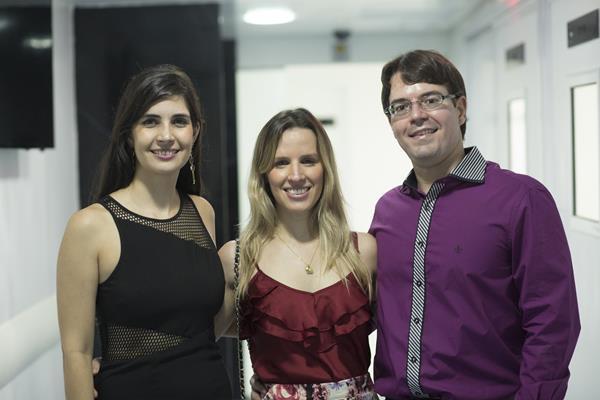 Ana Karina, Viviane Bandeira e Bruno Cavalcanti - Créditos: Ednaldo Bispo/Divulgação