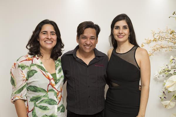 Ana Paula, Romildo Alves e Ana Karina - Créditos: Ednaldo Bispo/Divulgação