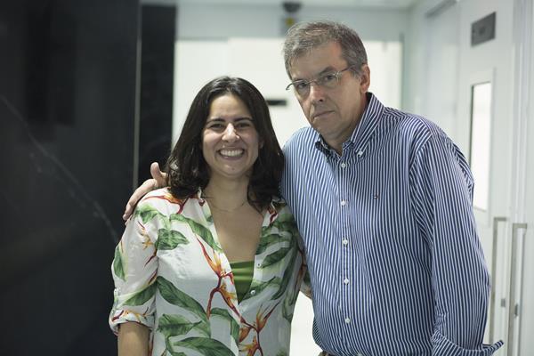 Ana Paula e Jayme Figueirêdo Filho - Créditos: Ednaldo Bispo/Divulgação