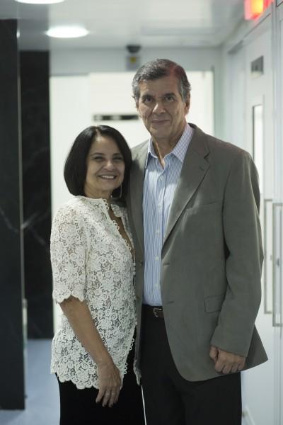 Ângela e Paulo Roberto Silveira - Créditos: Ednaldo Bispo/Divulgação
