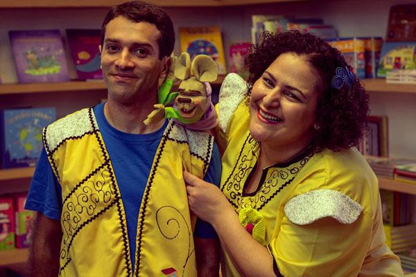 Susana Morais e Tio Diego - Crédito: Divulgação