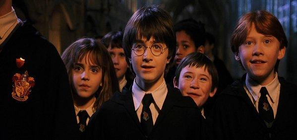 Harry Potter e a Pedra Filosofal - Crédito: Reprodução/Twitter