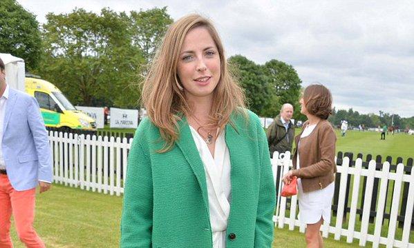 Rose Faquhar é tida como o primeiro amor do Príncipe William - Crédito: Reprodução/Twitter