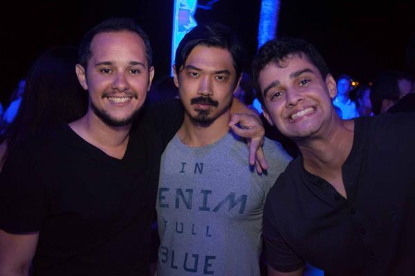 Rodrigo Rosa, Marcelo Zeng e Eugenio da Fonte - Crédito: Vito Sormany/Divulgação