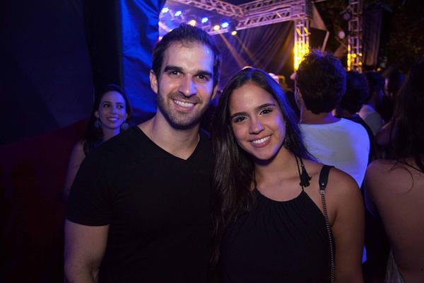 Tuca Queiroz e Sofia Guimaraes - Crédito: Vito Sormany/Divulgação