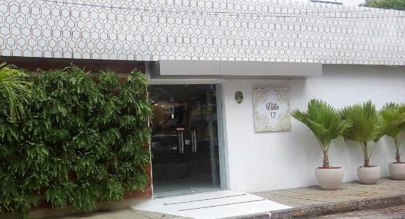 Fachada da Villa 17. Crédito: Divulgação/Villa 17