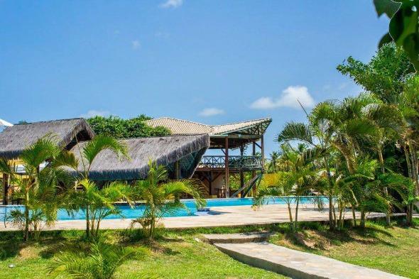 Piscina do Lago Hotel, em Pipa (RN). Crédito: Divulgação do hotel