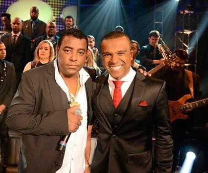 Luiz Carlos e Alexandre Pires afastaram Belo da segunda edição do projeto Gigantes do Samba - Foto: TV Globo/Programa do Jô