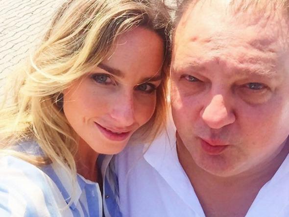 Mariana Weickert e Erick Jacquin. Crédito: Reprodução Instagram