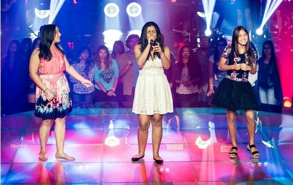Ally Victory, Mariana Rocha e Mayara Cavalcante. Crédito: Isabella Pinheiro/Gshow