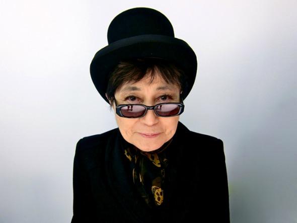 Yoko Ono. Crédito: Divulgação