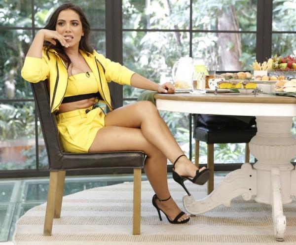Anitta é atração em Gravatá - Crédito: TV Globo/Divulgação