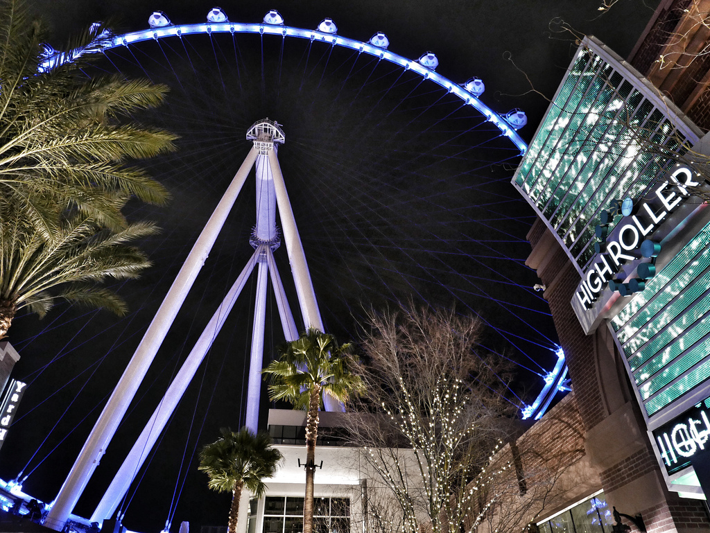High Roller Las Vegas - Crédito: Steve's Stills/Divulgação