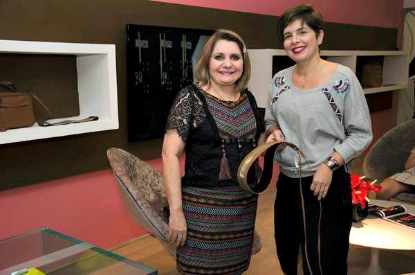 Fátima Alencar e Daniele Campos - Créditos: Cecília Bradley/Divulgação