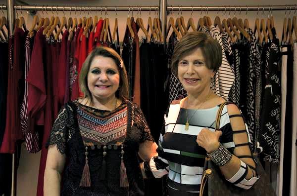 Fátima Alencar e Hermínia Campos- Créditos: Cecília Bradley/Divulgação