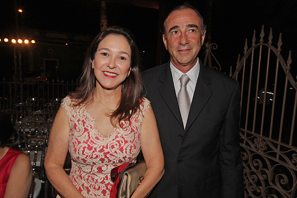 Patrícia e Jorge Petribu. Crédito: Roberto Ramos/DP