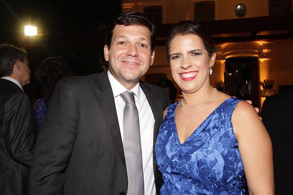 Geraldo Júlio e Cristina Melo. Crédito: Roberto Ramos/DP