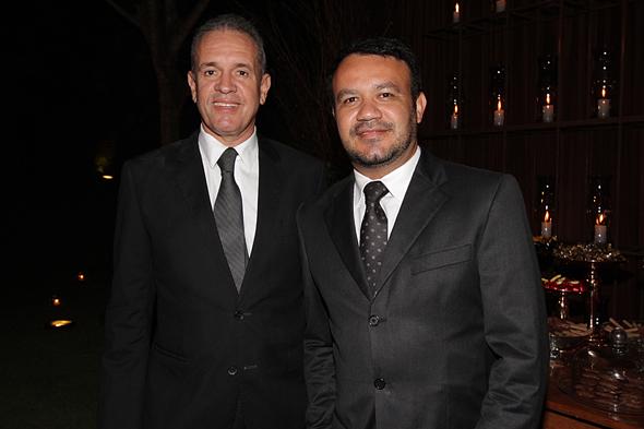Sílvio Medeiros e Fabiano Reis. Crédito: Roberto Ramos/DP