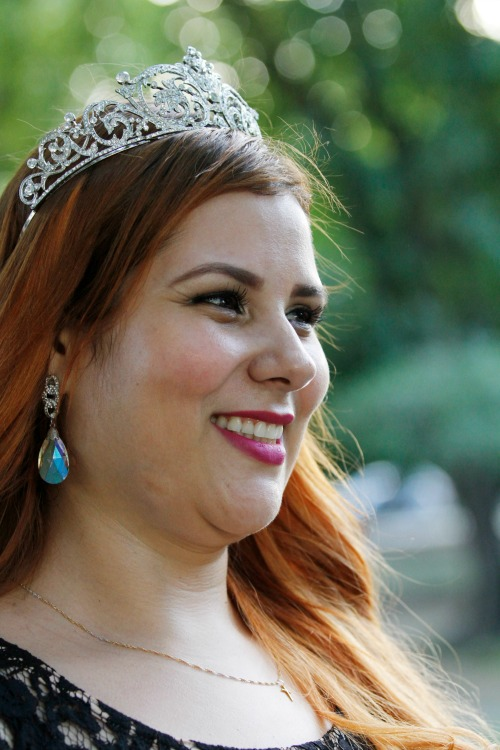 Babi Luz, a Miss Pernambuco Pluz Size 2015. Crédito: Ricardo Fernandes/DP