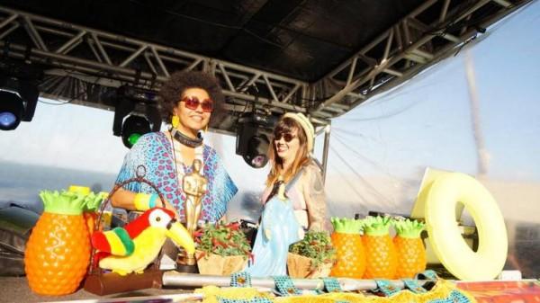 As Djs Lala K e Allana Marques - Crédito: Divulgação