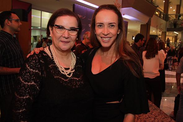 Virginia Leal e Liza Carvalho - Crédito: Roberto Ramos/DP