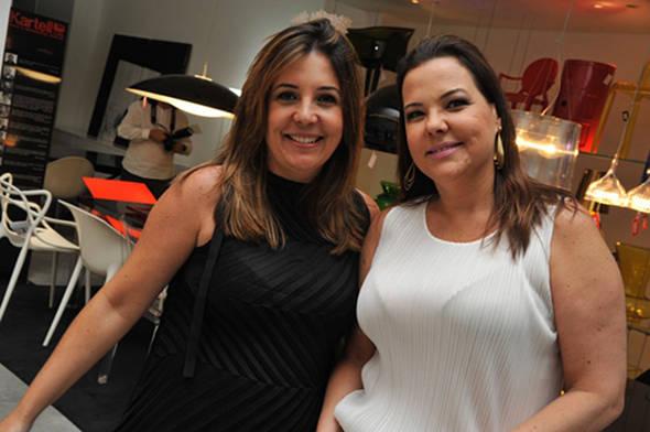 Carla Cavalcanti e Isabela Coutinho- Crédito: Lulu Pinheiro/Divulgação