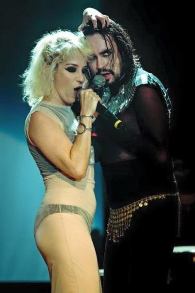 Karina Buhr e Johnny Hooker - Crédito: Reprodução/Facebook