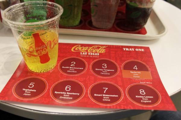 A degustação de refrigerantes do mundo inteiro