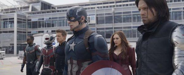 Capitão América: Guerra Civil - Crédito: Reprodução/Youtube