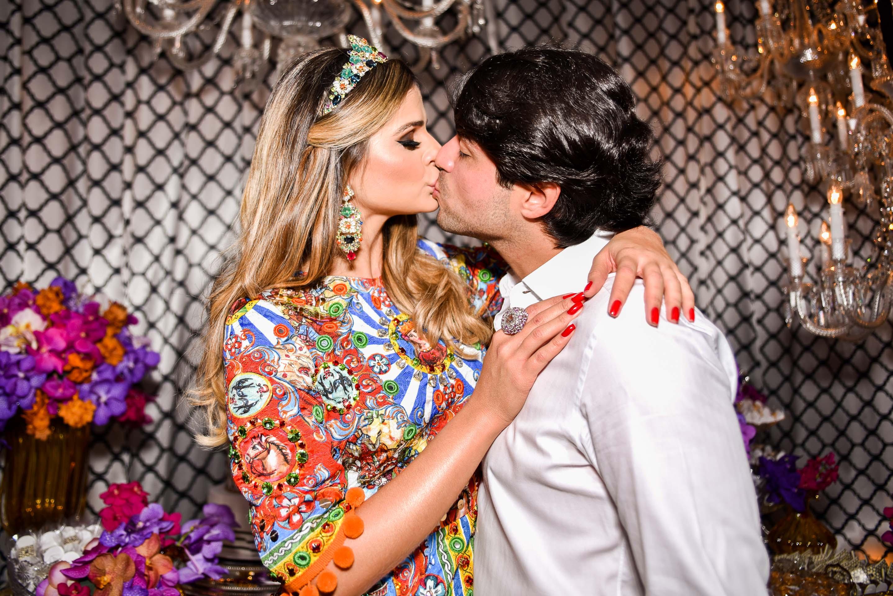 Thassia Naves com o namorado Artur Attie - Crédito: RhaiffeOrtiz/Divulgação