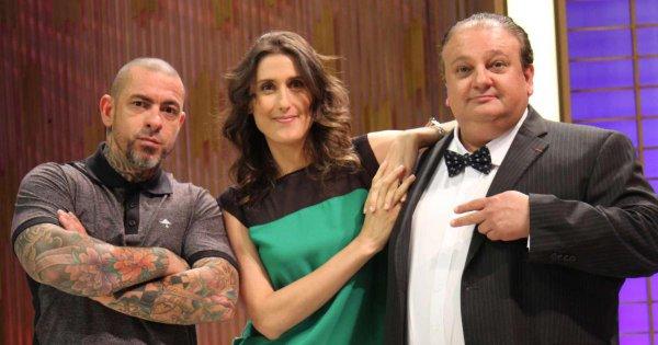 Henrique Fogaça, Paola Carosella e Erick Jacquin  - Crédito: Reprodução/Twitter