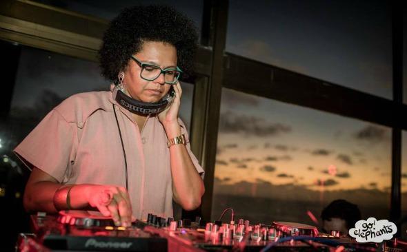 DJ Lala K. Crédito: Go Elephants!/Divulgação