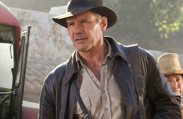 Harrison Ford como Indiana Jones. Crédito: Reprodução/papelpop.com