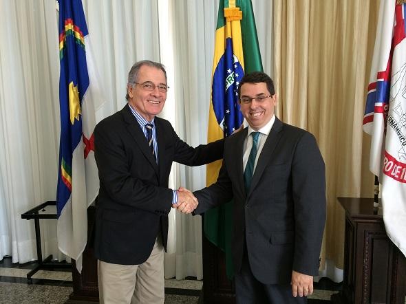 Leopoldo Raposo e Sílvio Neves Baptista Filho