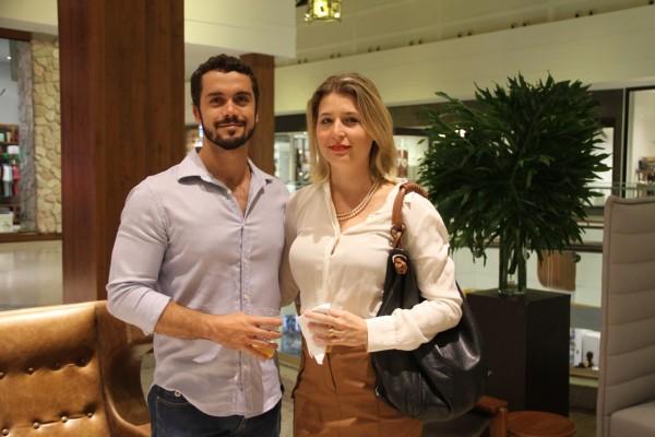 Guilherme Campelo e Mariana Jatobá - Crédito: Luciano Alpes/4Comunicação/Divulgação