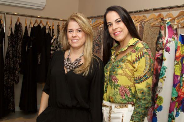 Raquel Morais e Carol Sampaio - Crédito: Tatiana Sotero/DP