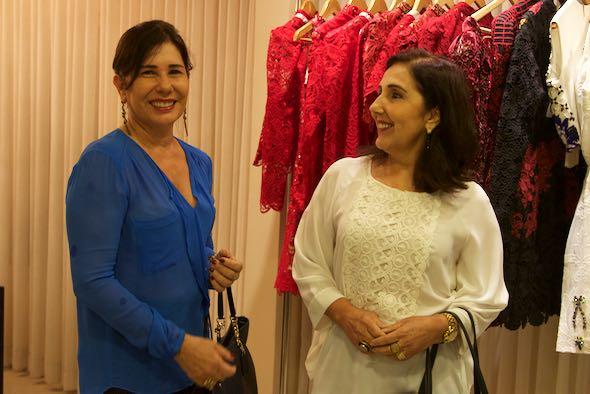 Ana Lucia e Marta Caribé - Crédito: Tatiana Sotero/DP