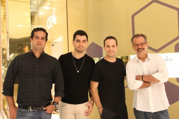 Zênio Farias, Luiz Dubeux, João Vasconcelos e Eduardo Machado - Crédito: Luciano Alpes/4Comunicação/Divulgação