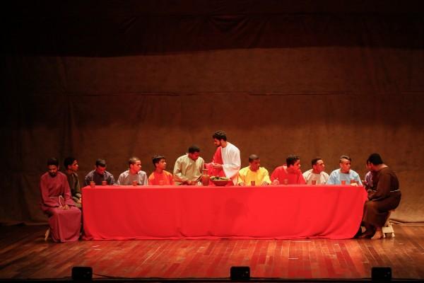 Paixão de Cristo do Pina será encenada no Teatro RioMar - Crédito: Paloma Amorim/Divulgação