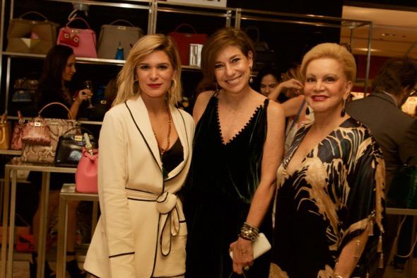 Juliana Santos, Consuelo Blocker e Lilian Santos - Crédito: Tatiana Sotero/DP