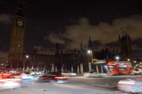O Big Ben foi apagado na última edição da Hora do Planeta - Crédito: Reprodução/Facebook