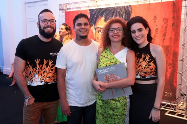 Beto Curra, Nando Zeve, Cláudia Ayres e DudaCurra - Crédito: Gleyson Ramos/Divulgação